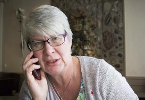 Ann-Marie Johansson (S), regionstyrelsens ordförande i Region Jämtland Härjedalen.