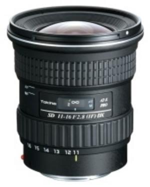 Ljusstark vidvinkelzoom från Tokina för Canon och Nikon