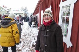 Ordföranden för Rödöns hembygdsförening, Karin Ericson från Kälen, var nöjd med årets Allhelgonamarknad som lockade fler än 1 000 personer.