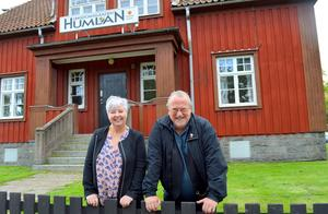 Ulla Rönnols och Lasse Svensson kommer alltid minnas tiden på Humlan med glädje.