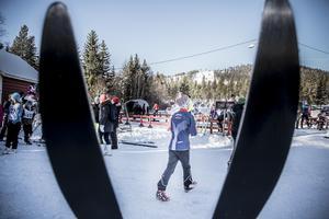 Skidor är grejen.