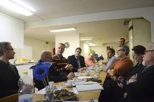 Representanter för de kommunala bostadsbolagen i Hälsingland kom till mötet i Bollnäs, liksom politiker och engagerade i landskapets hyresgästföreningar.