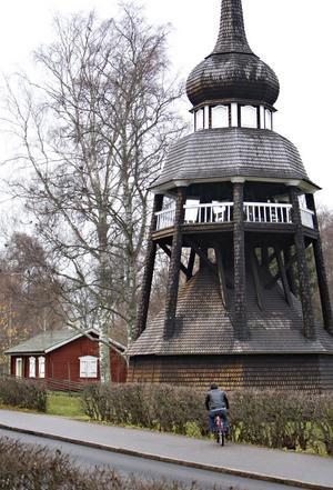 Överste Fock ville skapa ett mindre Skansen. Bakom soldattorpet har det funnits burar med rävar och sälar.