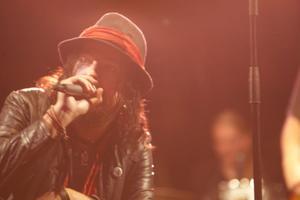 Charlie Granberg, sångare i Hellsinland Underground.