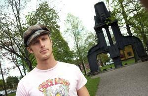 Mattias Wiklöf är en av 450 metallare som förlorar jobbet på Sandvik SMT.