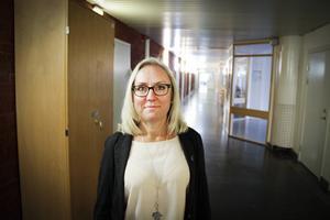 Sörbyskolans biträdande rektor Katarina Jonsson är glad att man äntligen kommer i gång.