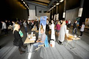 Rekryteringsmässan i Åre brukar locka omkring 700 besökare. I år hålls den på TV4 Sport Arena.