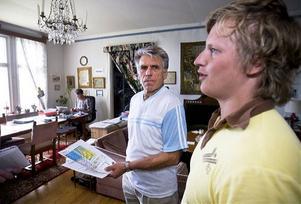 Åke Eriksson och Erik Kolbäck har många spännande projekt på gång, båda på land som till havs.