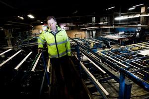 Sågverkschefen Erik Sjölund bedyrar att Alasågen ständigt arbetar med säkerhetsfrågorna.