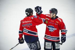 Det blev tre poäng för Andreas Forsström, Karl Kling och deras ÖHF i omstarten av division 1 norra.