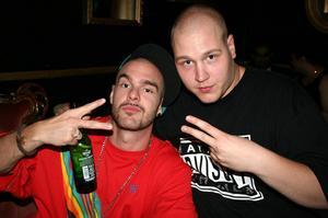 Rock och K Baren. Low-B och Bobby-P