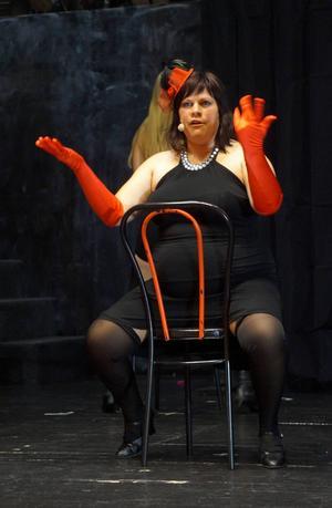 Alexandra Engdahl spelar Sally. En av huvudrollerna i musikalen.