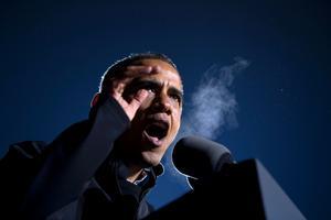 Barack Obama sitter kvar.