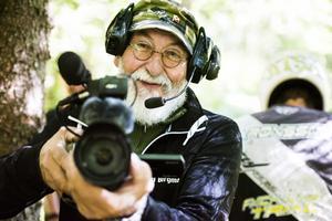 Karl Bergman tillhör en av dem som är med och hjälper till. Under helgens tävlingar agerade han bland annat domare.