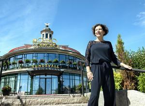 Inger Nordqvist är chef på Casino Cosmopol Sundsvall