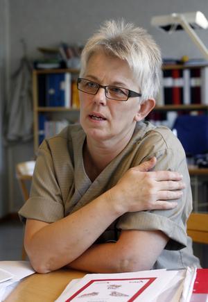 Undersköterska Ing-Marie Westberg har jobbat i huset i 36 av de 40 åren.