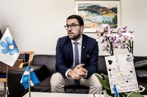 Jimmie Åkesson (SD) har rätt i att antalet anmälda sexualbrott ökar i Sverige.