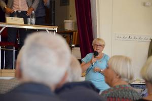 Inga-Lis Sirenius, ordförande i PRO City, menar att det är äldreboenden som är den viktigaste frågan ur pensionärssynpunkt inför valet i september.