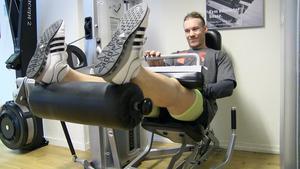 – Hitta mål som är realistiska, säger Johan Lundström som tränar mycket,  fem-sex gånger i veckan ligger han på.