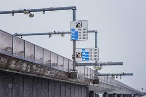 Sundsvall 1 februari: Broavgiften på Sundsvallsbron införs.