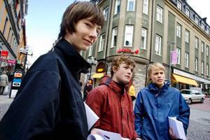 Segling och fika. Det är Simon Ingvarssons, Hannes Bakers och Ville Westmarks affärsidé. Fram till mitten av juli kommer de hålla ett sommarcafé öppet i Ås båthamn.