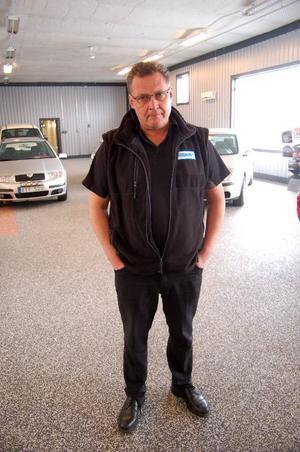 Einar Roos, vd på Folkes Bil, tar över konkursade Bilhusets VAG-handel i Strömsund.  Foto: Jonas Ottosson