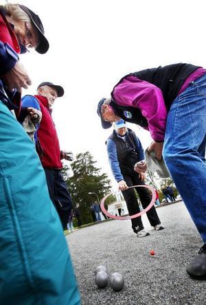 SPF:s distriktsmästerskap i boule lockade fler deltagare i år än någonsin tidigare.