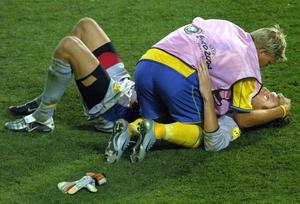 Det är snart tio år sedan Marcus Allbäck och Andreas Isaksson låg på Estádio Algarves gräs och grät. I februari får ÖSK försöka ta svensk revansch på arenan.