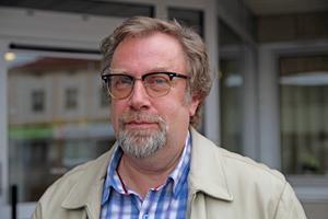 Tommy Lindvall, ny rektor på Björktjära skola.