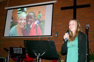 Lina Samuelsson berättar om Swaziland.