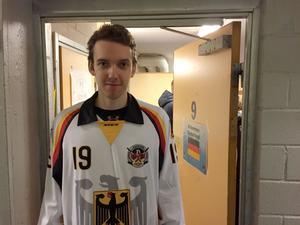 22-årige Niklas Laue är lagkapten för Tyskland.