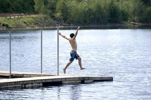 Hålldammens badvatten i Järbo är tjänligt igen.