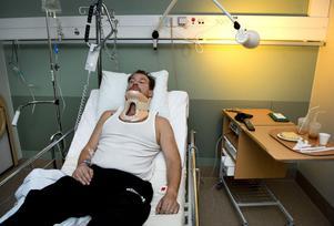 Nu väntar en riskfylld operation i Umeå.