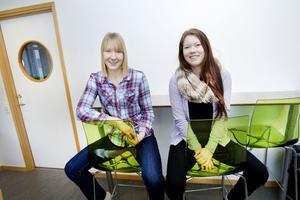 Madelene Östblom går andra året på djurvårdsprogrammet med inriktning mot naturvetenskap på Realgymnasiet och Marilinn Lauridsen Andersson går sista året på hästhållningsprogrammet med inriktning mot naturvetenskap. Som två av 1800 elever har de deltagit i en vetenskaplig undersökning om bäst-före-datum.