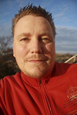 Anders Berglund är vice ordförande i UFO-Sverige.   Foto: Privat