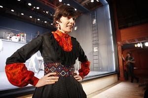 Alexandra Zetterberg spelar lönnkrögerskan Pila-Brita.