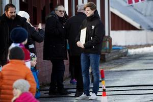 Tobias Hagljung fick ta emot Ingvar Hedins Minnespris under söndagen.