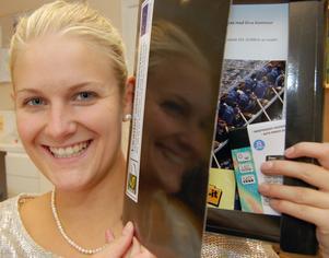 Lina Ek har tilldelats Orsa Ungdomscheck på 10 000 kronor.
