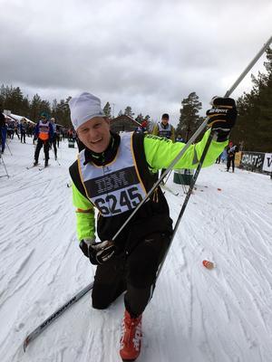 Johan Erikssons lopp var inte särskilt mycket rock'n'roll, men kanske nästa år...