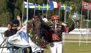 2007 vann kusken Fredrik B. Larsson med Giant Superman.
