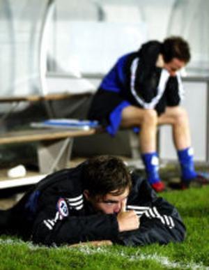 Mikael Lustig och Giffarna bet i gräset. Igen. 0-1 mot Landskrona innebär att det blir Superettan nästa säsong för Sundsvallslaget.
