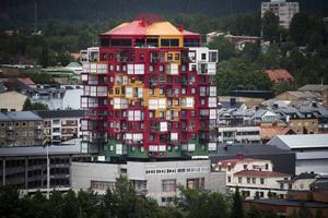 Tillsammans med Nicklas Nyberg har Gert Wingårdh skapat Ting1 i Örnsköldsvik. Nu är de aktuella med planer på Torg1 i Sundsvall.  Foto: Ludwig Arnlund/Arkiv