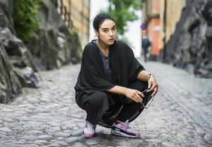 Den samiska rapparen, aktivisten och skådespelaren Maxida Märak sommarpratade och medverkade i festivaler.