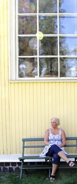 Linda Lasson från Härnösand.