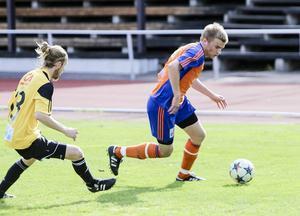 Johan Sköld svarade för framspelningen till Bollnäs segermål.