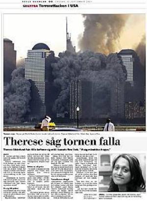Klipp ur GD den 12 september 2001.