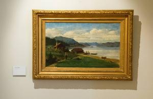 Målning av Olof Grafström.