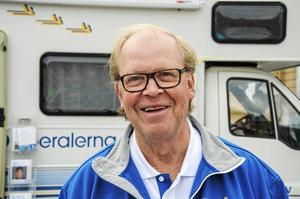 Lars Holmgren (L) var motståndare till bygget och sa nej.