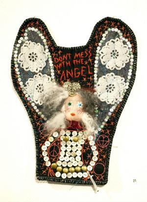 Don´t mess with the angel. Av Patricia Gatti-Liljedahl.
