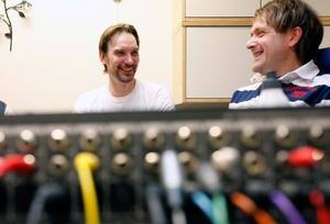 Mikael Gunnerås och Johan Jämtberg 2012. Bild: GD Arkiv.